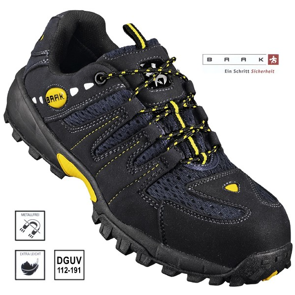 BAAK New Sport Light, Sicherheits Halbschuh S1