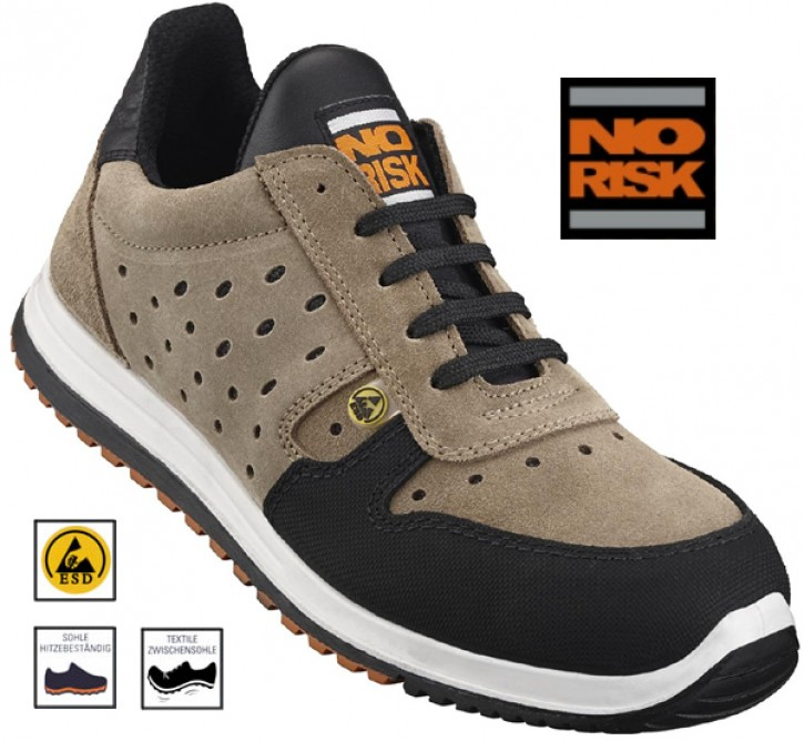 NO RISK Runner, Sicherheits-Halbschuh S1P