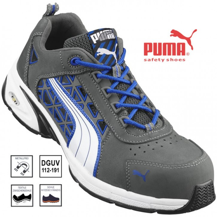 PUMA Stream Blue, Sicherheits-Sandalen S1P