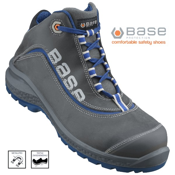 BASE Be-Joy, Top Sicherheits-Schnürstiefel S3 /36-48
