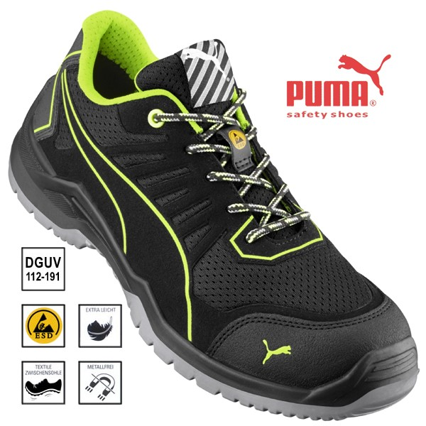 PUMA Fuse Motion TC Low, Sicherheits-Halbschuh S1P