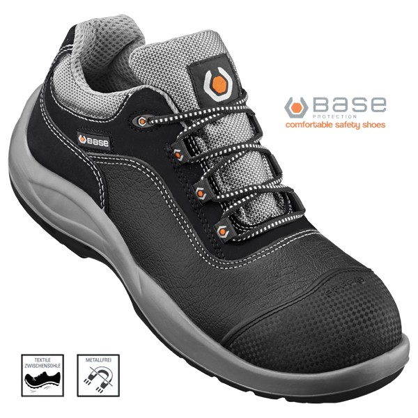 BASE Unique 2, Sicherheits-Halbschuh S3 39